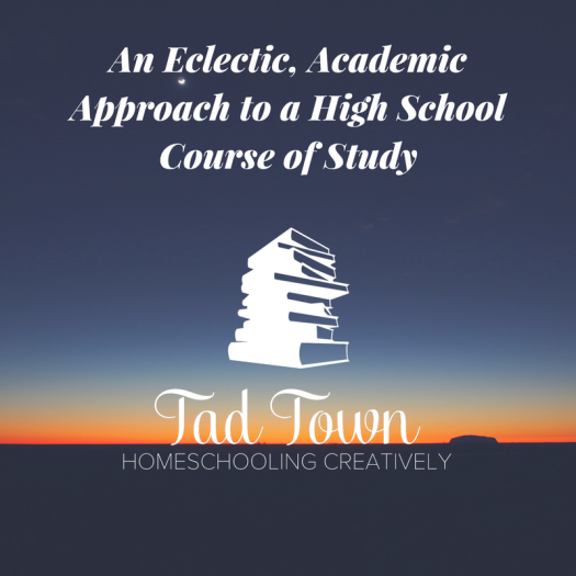 an-eclectic-academic-approach-to-a-high-school-course-of-study